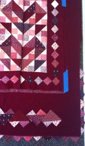 Heart Border Quilt March 2012
